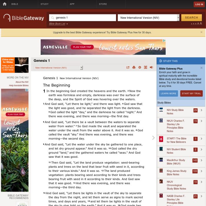 bible gateway books of the bible