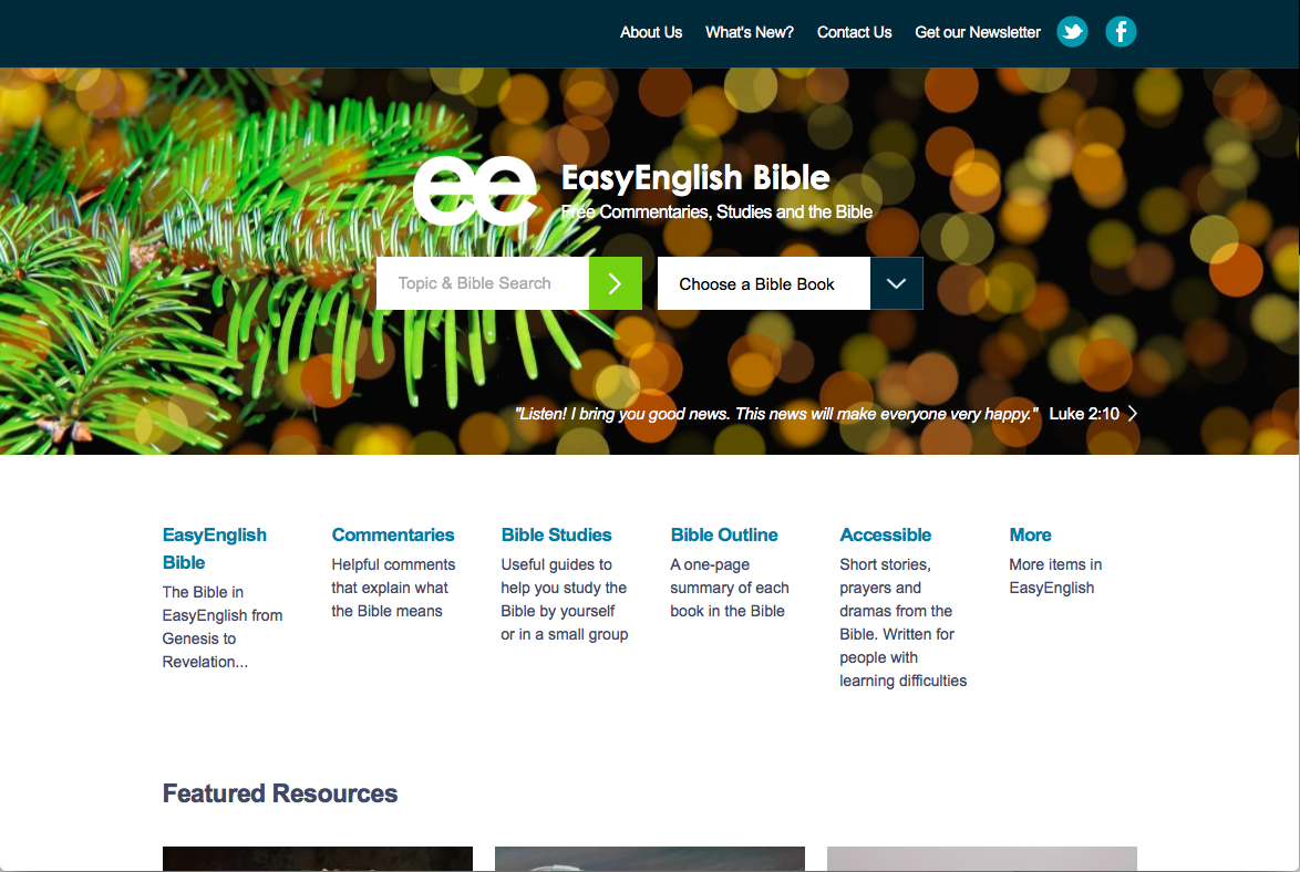 Bible Websites – For All Things Bible