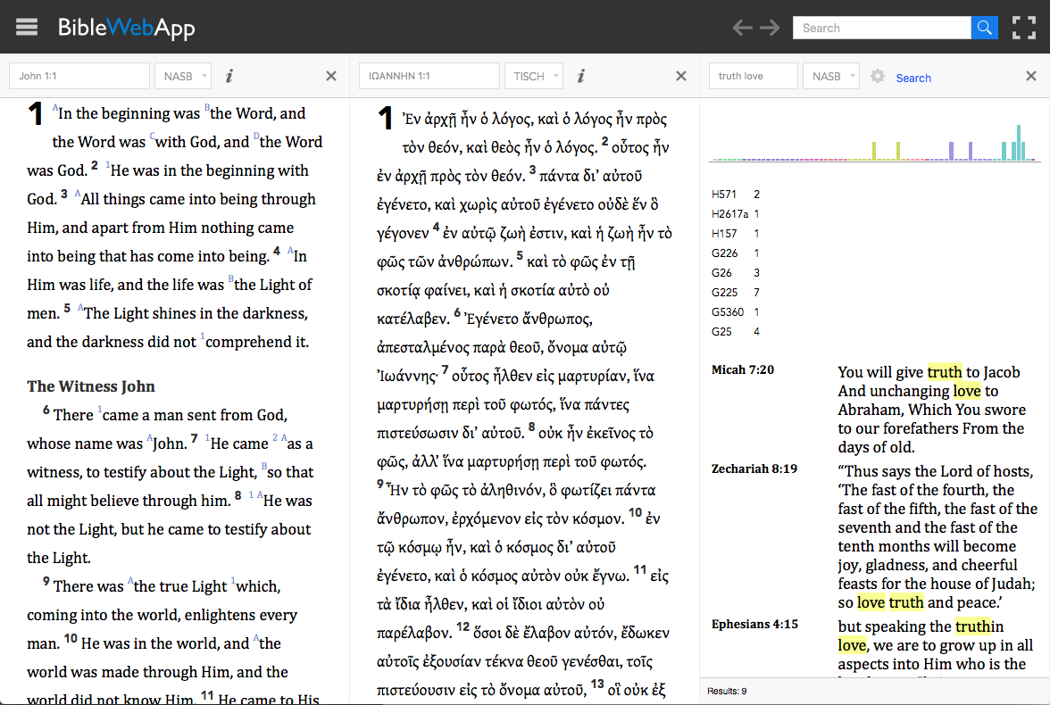 Bible Search – For All Things Bible